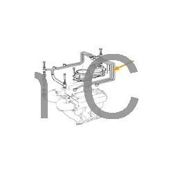 Brandstofleiding olievolumenverdeler - Injector 2 cilinder*