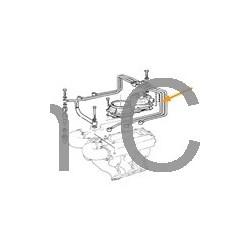 Brandstofleiding olievolumenverdeler - injector 3 cilinder