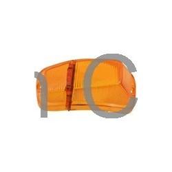 Knipperlichtglas oranje vanaf '62