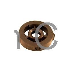 Aandrijfas rubber lager 62 mm