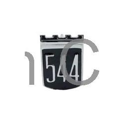 """Embleem """"544"""" A-stijl vanaf '65"""