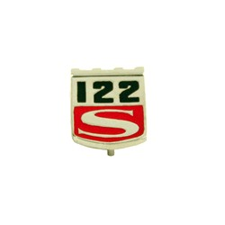 "Embleem spatbord ""122S"""