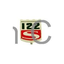 Emblem Fender 122S