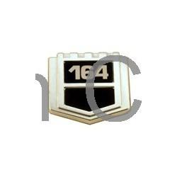 "Embleem ""VOLVO 164"" spatbord B30A"