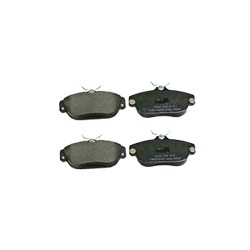 Brake pad set Front axle System Girling