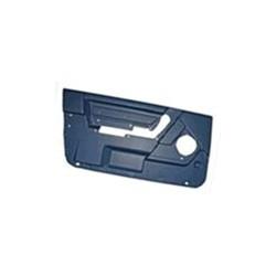 Interior door panel for Driver door black-blue