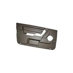 Interior door panel for Driver door black-grey