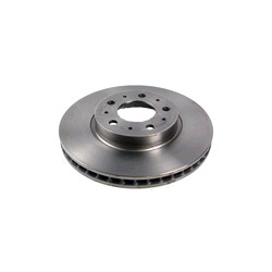 Brake disc Front axle vented