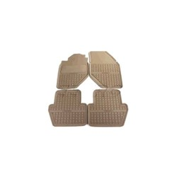 Floor accessory mats Synthetic material beige