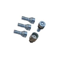 Rim lock set
