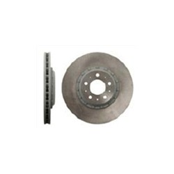 Brake disc Front axle left 320 mm