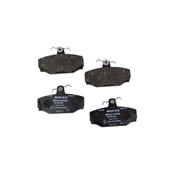Brake pad set Rear axle