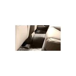 Floor accessory mat, single Rubber brown rear interior code 3x1x