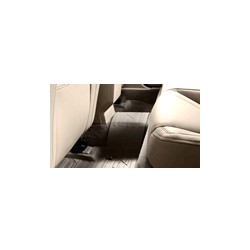 Floor accessory mat, single Rubber anthracite rear