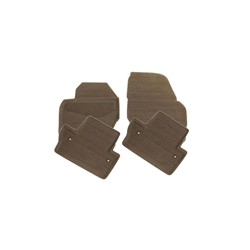 Floor accessory mats Rubber brown
