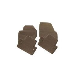 Vloermatten rubber bruin