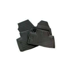 Floor accessory mats Rubber black