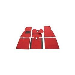Carpet set red