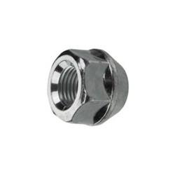 Wheel nut silver