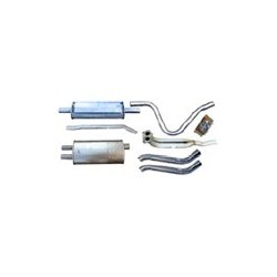 Exhaust system from Manifold with Add-on material
