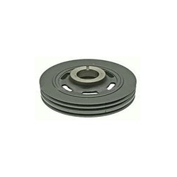 Belt pulley, Crankshaft