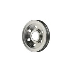 Belt pulley, Crankshaft Zinc-coated
