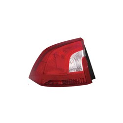 Combination taillight left outer Section