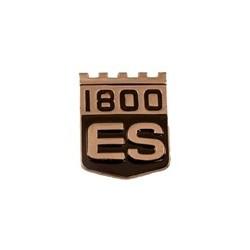 """Emblem Rear panel """"P1800ES"""""""
