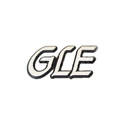 "Emblem Trunk lid ""GLE"" to '85"