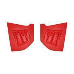 Interior panel A-pillar red Kit for both sides from '64 to '69
