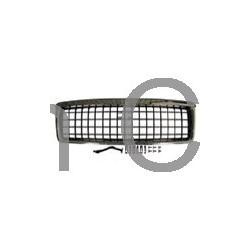 Radiatorgrill styling chroom / zwart met vierkante raster