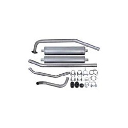 Exhaust system from Manifold