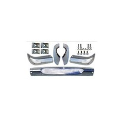 Bumper front Stainless steel blank